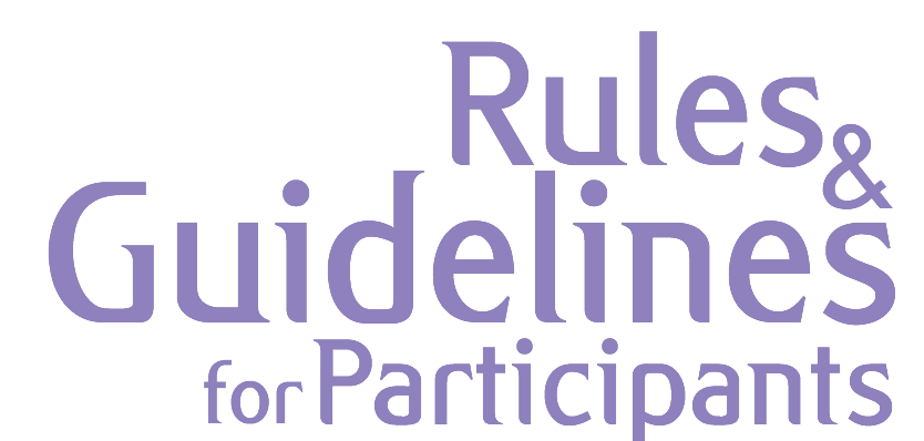 Guidelines For Participants